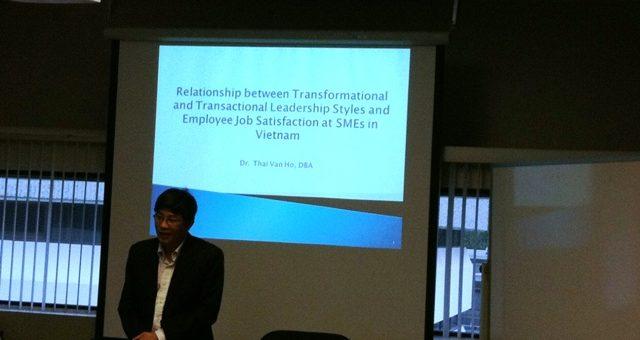 Relation entre les styles de leadership et la satisfaction au travail des employés de PME au Vietnam