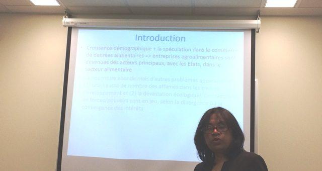 PREOCCUPATIONS ENVIRONNEMENTALES DANS LES POLITIQUES ALIMENTAIRES DES ENTREPRISES AGROALIMENTAIRES : IMPLICATION POUR MADAGASCAR