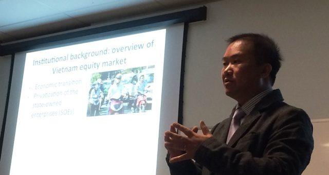 La gouvernance d'entreprise dans les pays en voie de développement : le cas du Vietnam